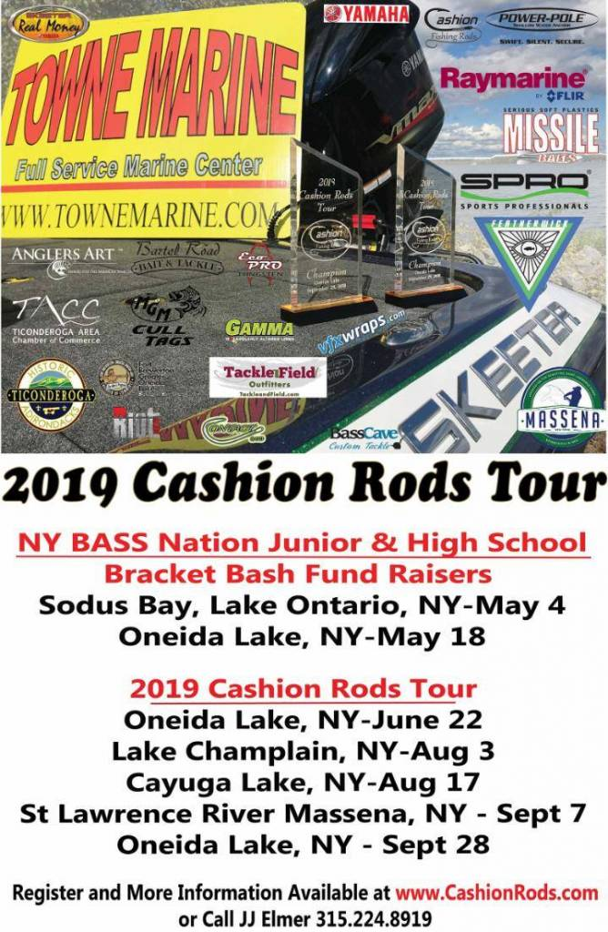 2019 Cashion Rod Tours
