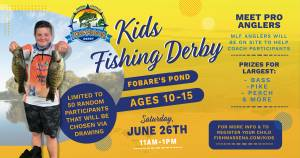 2021 Kids Fishing Derby - Fobares Pond - Facebook Cover