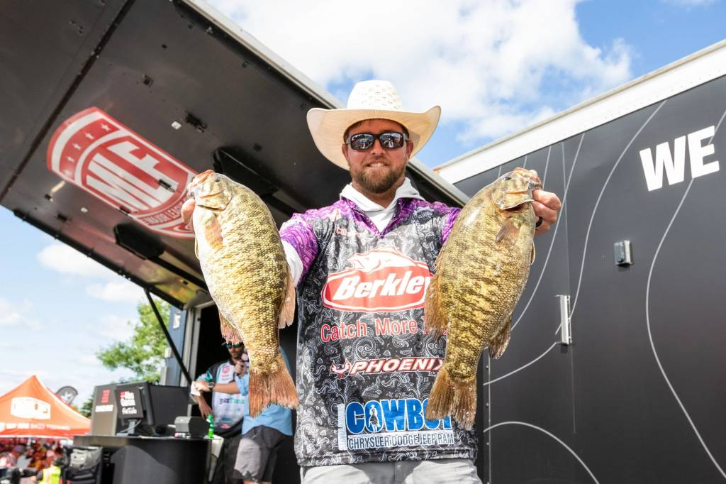Joey Cifuentes Leads Day Two