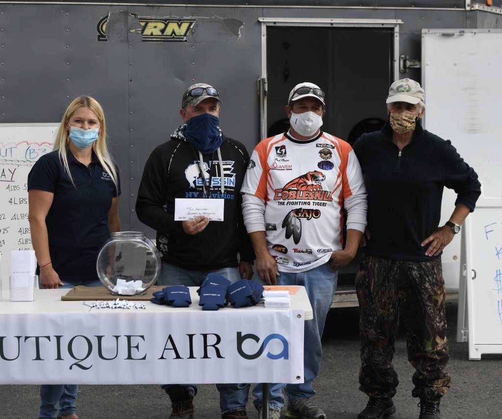2020 Big Bass Blowout Winners Sponsored by Boutique Air
